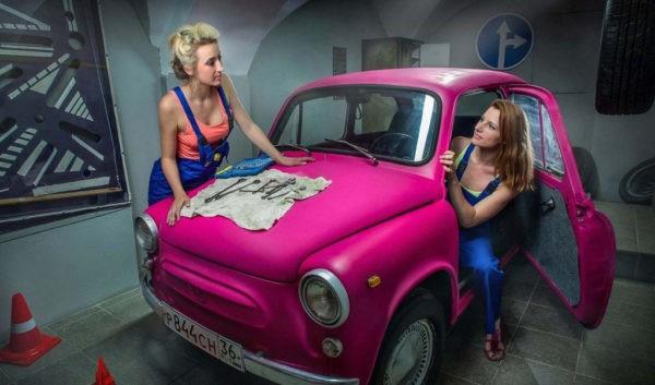 Claustrophobia - Car service