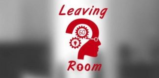 Escape game leaving room logo
