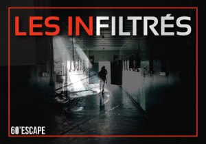60 escape - les infiltrés