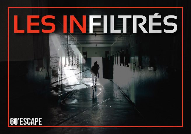 60 escape game paris - les infiltrés