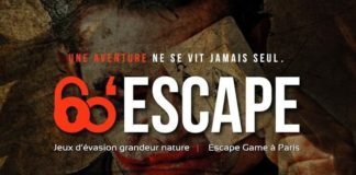 60 escape - logo