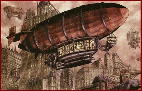 Aventure 06 - Dirigeable Steampunk