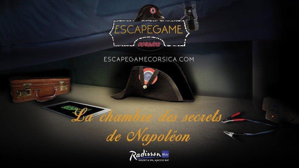 Escape Game Corsica - chambre des secrets napoleon