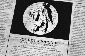 spectre paris - vol joconde 1