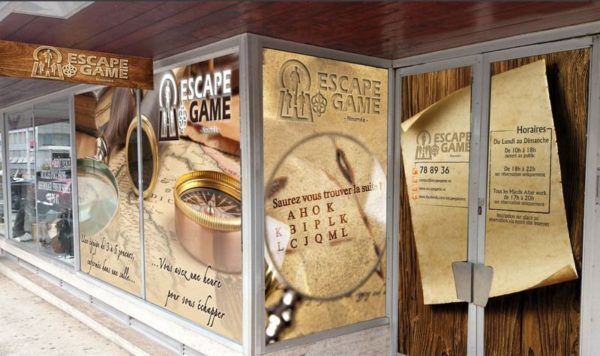 escape game noumea - exterieur