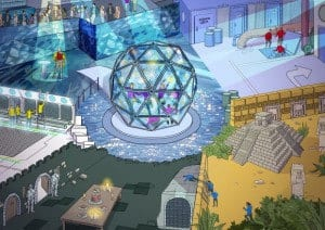 the Crystal Maze artwork