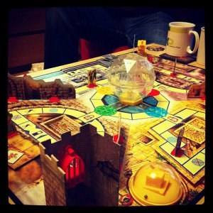 the Crystal Maze boardgame