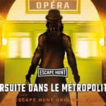 Escape Hunt Paris - poursuite dans le metropolitain