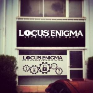 locus enigma - exterieur