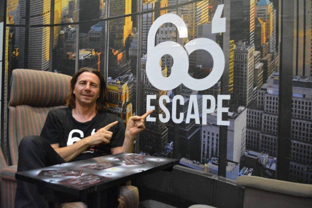 60 escape game - jean marc
