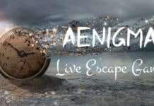 Aenigma escape game - logo