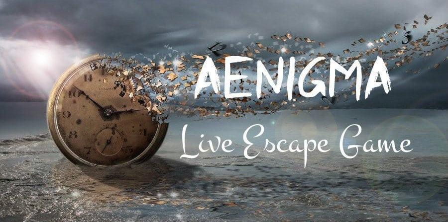 Aenigma escape game - logo
