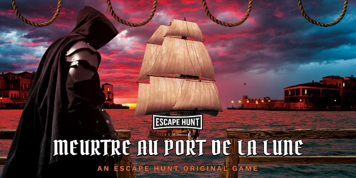 Escape Hunt - meutre au port de la lune