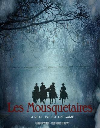 Mystery Escape - Mousquetaires affiche