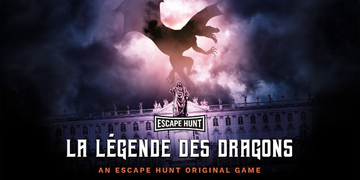 Escape Hunt Nancy - la legende des dragons