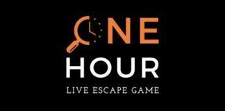 One hour - logo