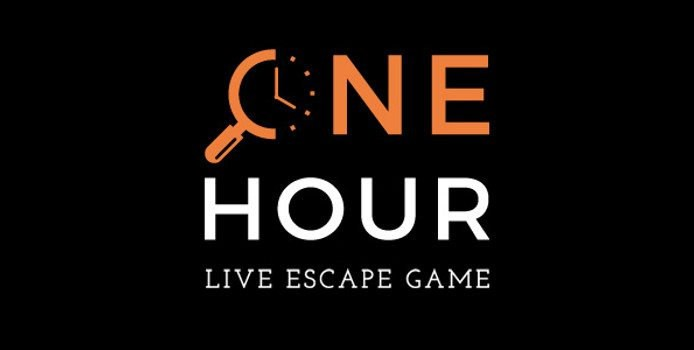 One hour - logo