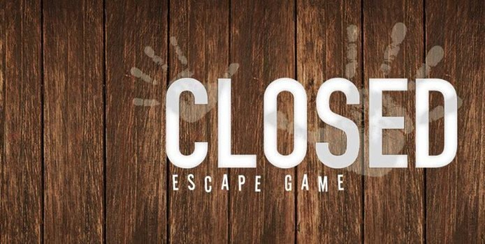 Closed escape game - logo