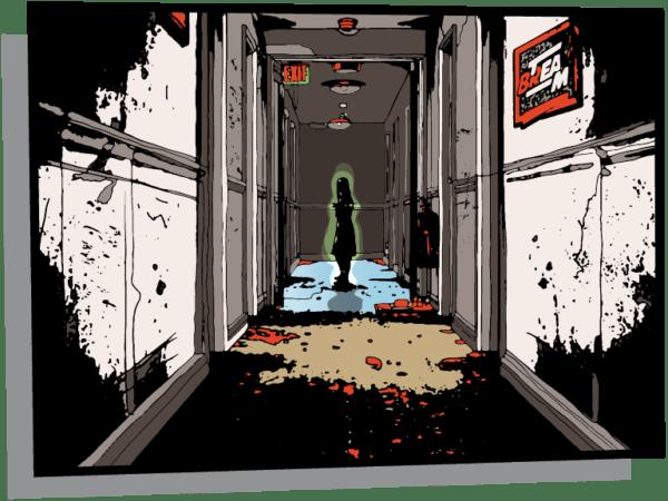 Team Break - Haunted Room