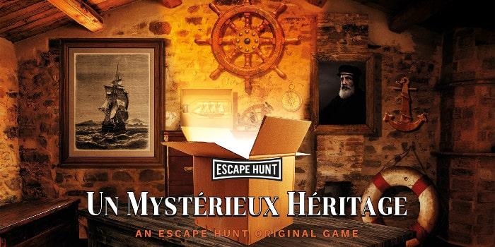 Escape Hunt - un mystérieux héritage