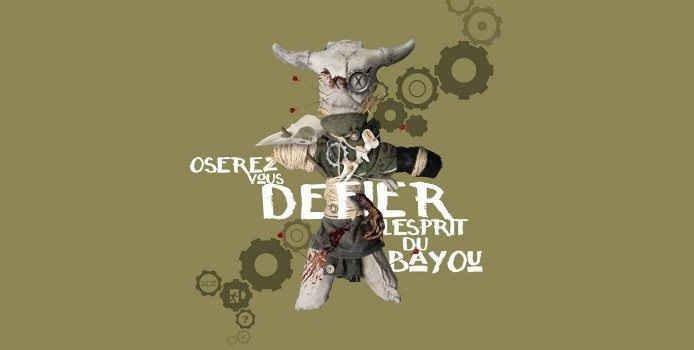 Challenge the room Escape Game Grenoble - esprit du bayou logo