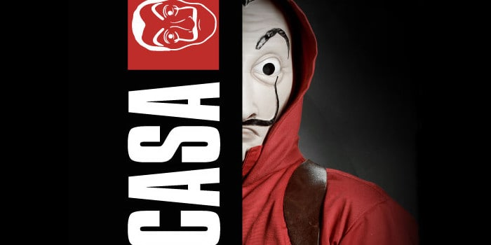 Only the Brain - casa de papel