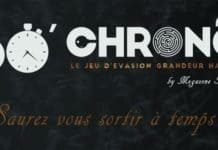 60 Chrono Escape Game Toulouse - logo