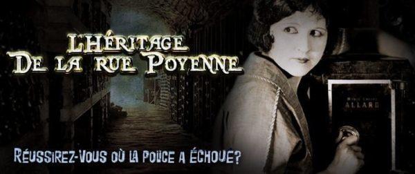 Echappe Toi - heritage rue poyenne baniere