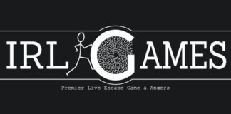 IRL Games escape game angers - logo