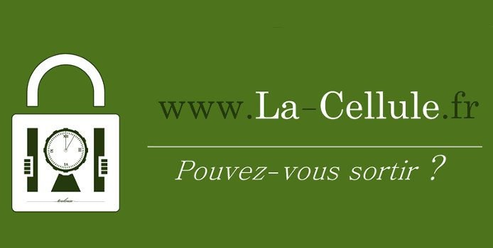 La cellule Escape Game toulouse - logo