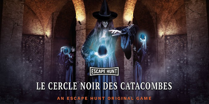 Escape Hunt clermont - le cercle noir des catacombes