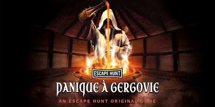 Escape Hunt clermont - panique a gergovie