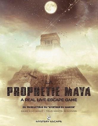 Mystery Escape - prophétie maya affiche