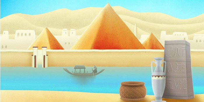 S'team escape - egypte pyramide rouge
