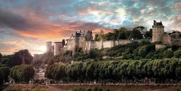 Image result for forteresse de chinon