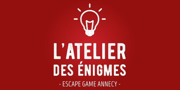 latelier des enigmes escape game annecy - logo