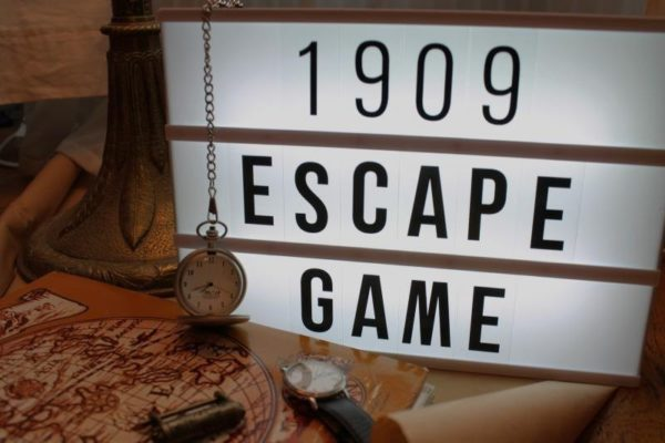 1909 Escape Game - illustration