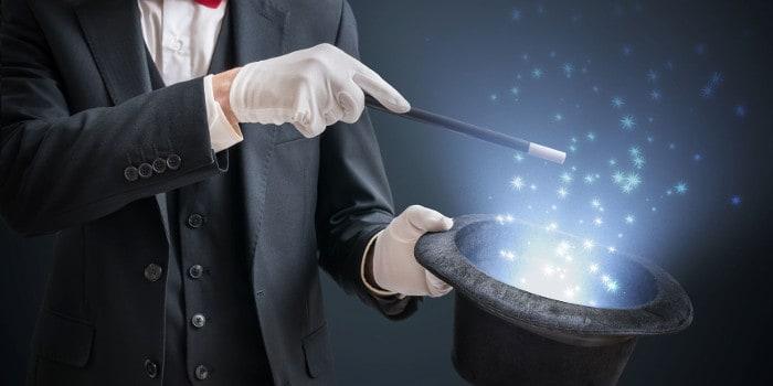 La Loge du temps - le grand magicien