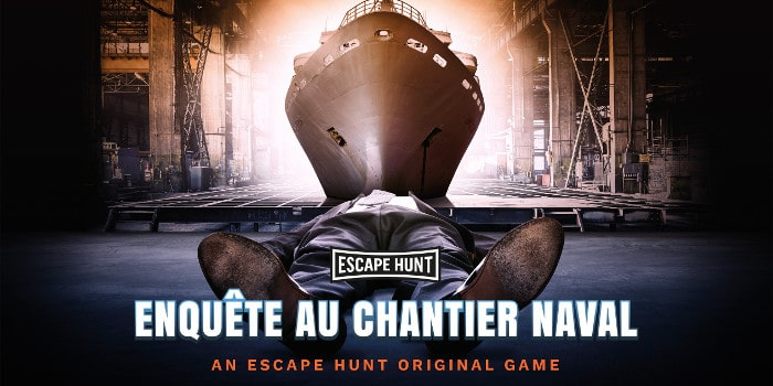 Escape Hunt - enquete au chantier naval