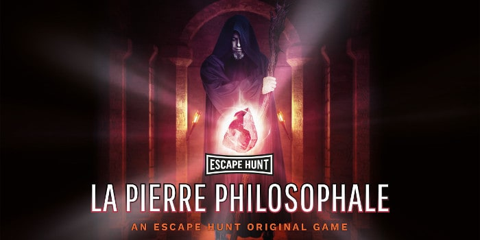 Escape Hunt - la pierre philosophale