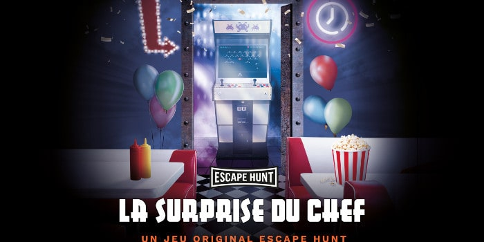 Escape Hunt - la surprise du chef