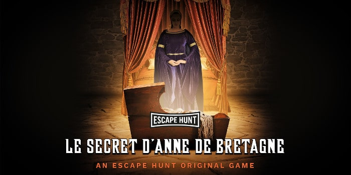 Escape Hunt - le secret d'anne de bretagne