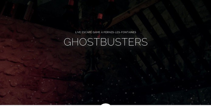 ghostbusters escape game - logo