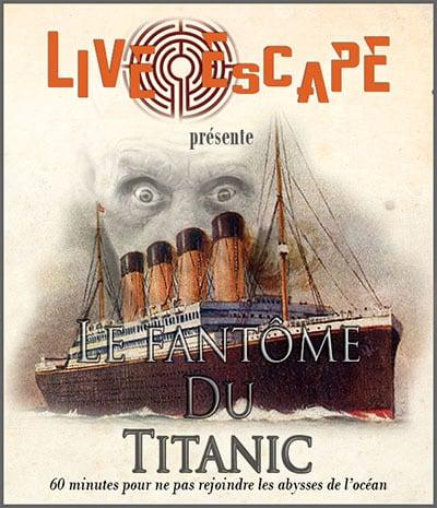 Live Escape Grenoble - Titanic