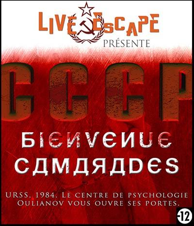 Live Escape Grenoble - bienvenue camarades