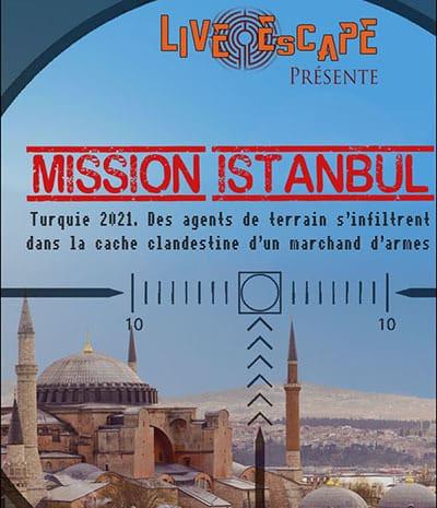 Live Escape Grenoble - mission instanbul