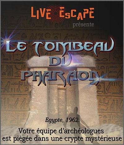 Live Escape Grenoble - tombeau du pharaon