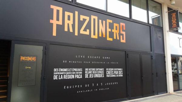 prizoners - puget sur argens - devanture