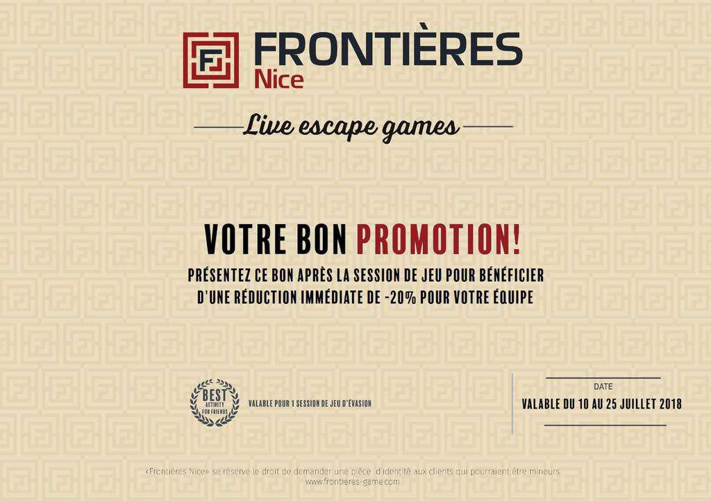 Promo Frontieres