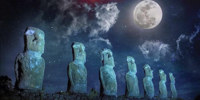 Imaginarium - le silence des Moai